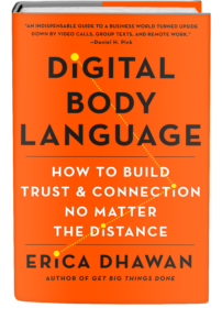 Erica Dhawan Digital Body Language Hard Cover